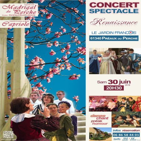 Concert Spectacle Le jardin François