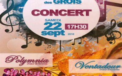 Concert Polymnia et Ventadour
