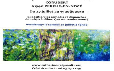 Exposition en l'église de Corubert