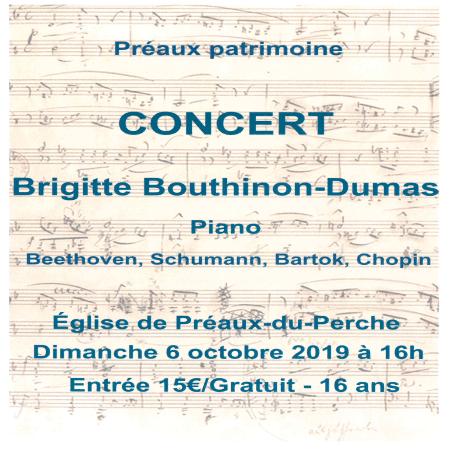 Concert Brigitte BOUTHINON-DUMAS