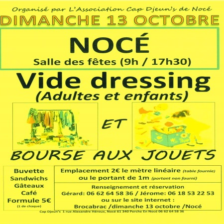 Vide dressing à Nocé