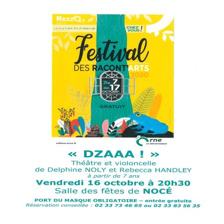 Festival des Racont'arts à Nocé