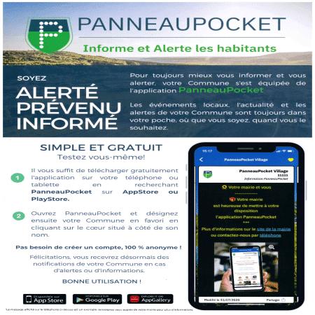 Perche en Nocé s'est équipée de l'application PanneauPocket