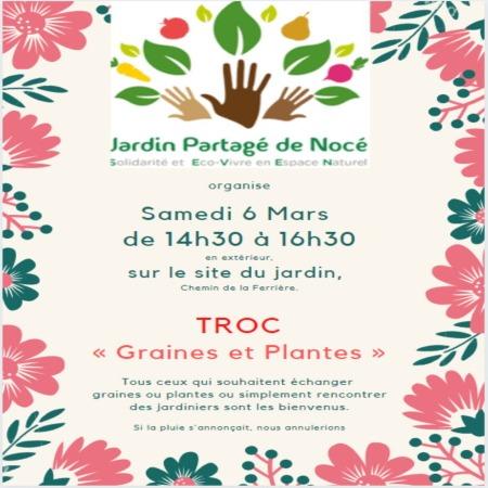 """TROC """"Graines et plantes"""""""