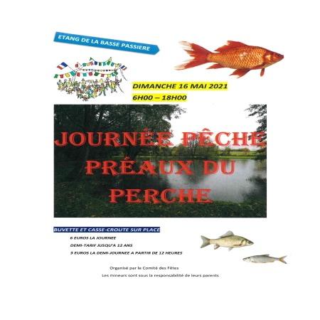 Journée pêche à Préaux-du-Perche