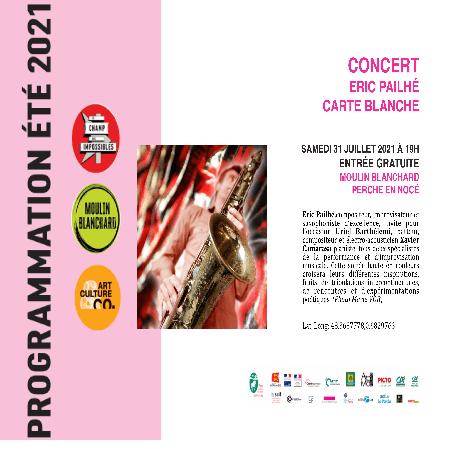 Concert Eric Pailhé