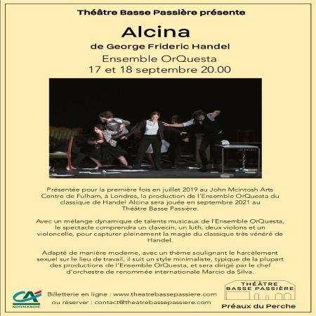ALCINA au Théâtre Basse Passière