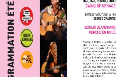 Concert Doudou Swing Duo
