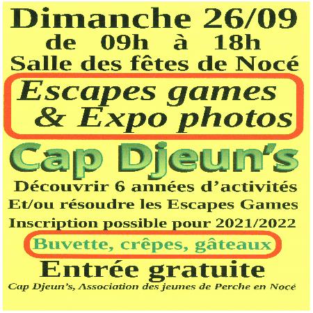 Escapes games & Expo photos